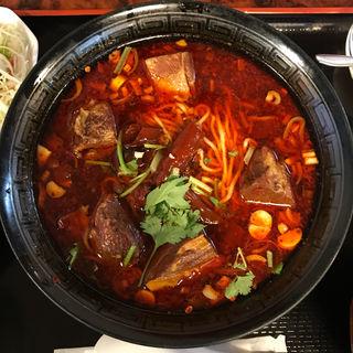 麻辣牛肉麺(四川DINING 望蜀瀘 )