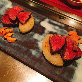 ヒレ肉(鉄板焼き 高見 (たかみ))