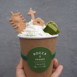 DESSERT MACHA LATTE(ROCCA &FRIENDS TRUCK)