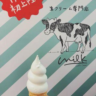ソフトクリーム(生クリーム専門店なんばCITY店)