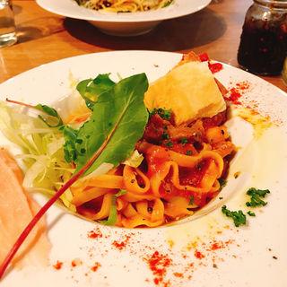 色々食感のボロネーゼパスタ(HANAZONO CAFE (ハナゾノ カフェ))