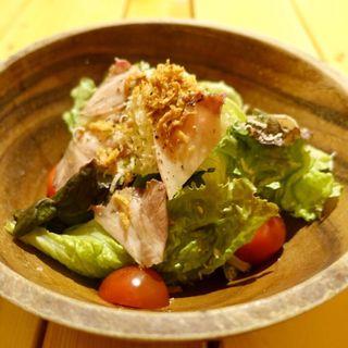 唐火七風サラダ