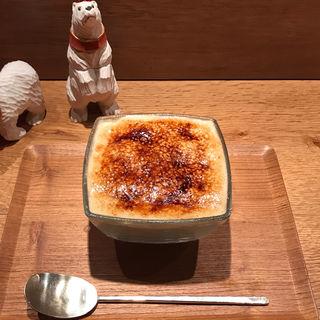 あぶりいもチーズとカスタード(氷屋ぴぃす )
