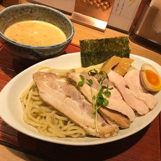 鶏白湯魚介つけ麺(ヒキュウ )