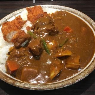 ささみカツカレー+野菜 5辛 400g(CoCo壱番屋 昭和御器所店 (ココイチバンヤ))
