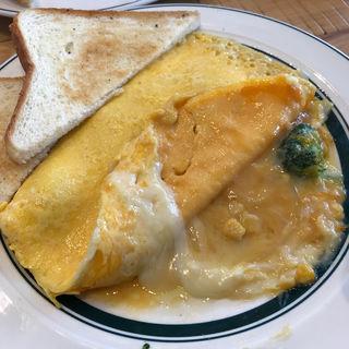 本日のオムレツ(Eggs 'n Things お台場店)