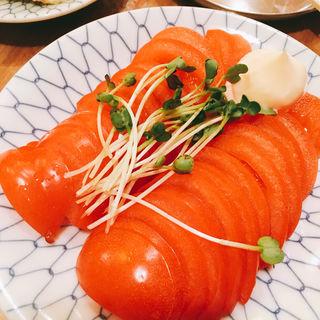 冷やしトマト(元気再生酒場なおとん69 )