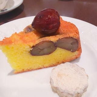 栗のケーキ(ラリュミエールドゥース (La lumière douce))