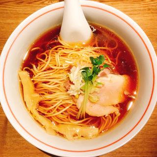 軍鶏そば(麺尊RAGE)