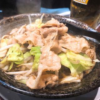 男の根性黒醤油(麺屋わっしょい )