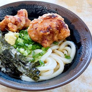 唐揚げぶっかけ冷(ぶっかけ冷+からあげ)(マルタニ製麺 )