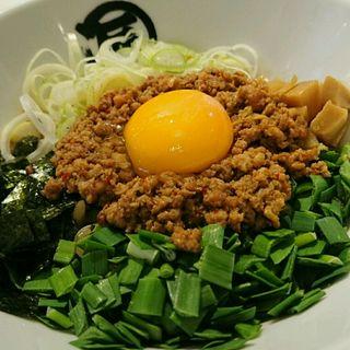 台湾まぜそば(麺やマルショウ UMADA FOOD HALL)