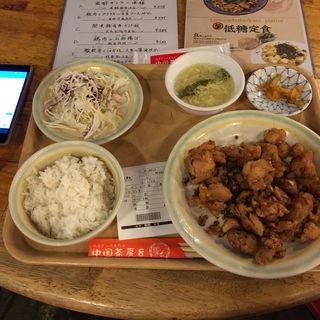 週替わりランチ 鶏肉の山椒揚げ(中国茶房8 赤坂店 )