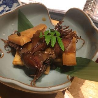 筍とホタルイカの煮物(桃屋 (ももや))