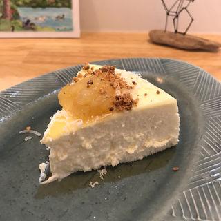 ふわふわのチーズケーキ(cafe百音)