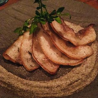 富士黒豚の自家製ベーコン(燻製キッチン )