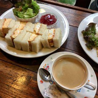 たまごサンドブランチ(cafe マロニエ (マロニエ))
