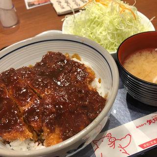 みそかつ丼 (キャベツ・汁付)(矢場とん 大阪松竹座店 )