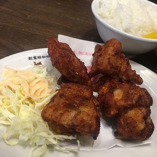 鶏の唐揚げ定食(天下一品 堅田店 )