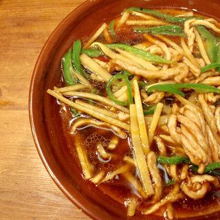 青椒肉絲麺(満龍 南5条店)