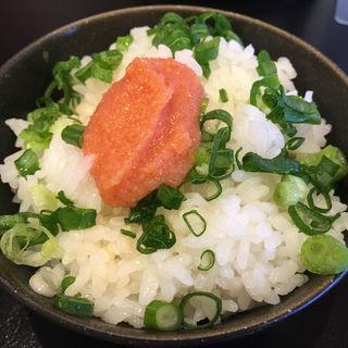 ラーメン定食(日替り)(豚骨ラーメン 三福)
