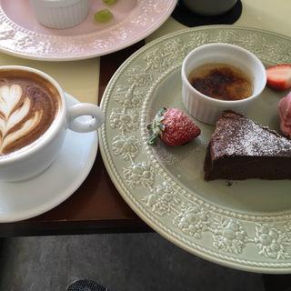 ケーキset(ティグコーヒー)