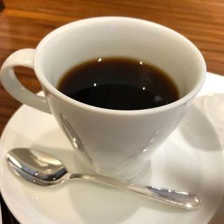 ハンバーグ御膳の食後のコーヒー(ステーキ割烹 四季 (FOUR SEASONS))