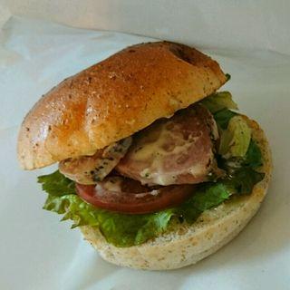 BLTサンド(ダブル サンドイッチ (Double Sandwich))
