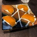 奈良漬けとクリームチーズ