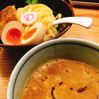 濃厚煮干しつけ麺(銀座 朧月 (おぼろづき))