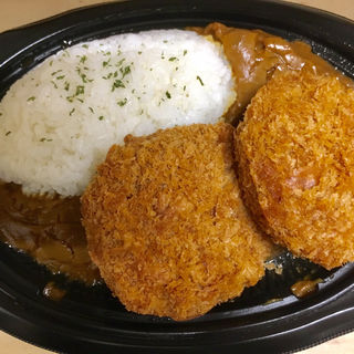 カレーライス&肉厚メンチカツ(ディナーベル ススキノ南7条店)