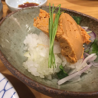 あん肝みそ(銀座魚勝 (GINZA UOKATSU))