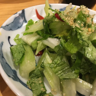 セロリ塩漬け(銀座魚勝 (GINZA UOKATSU))