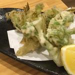 季節の天ぷら(タラの芽、蕗の薹)