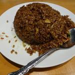黒正油炒飯