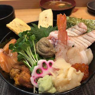 豪華海鮮丼‼︎(ときすし はなれ (トキスシハナレ))