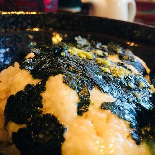 とろろご飯(手打蕎麦 ばんしゃ )