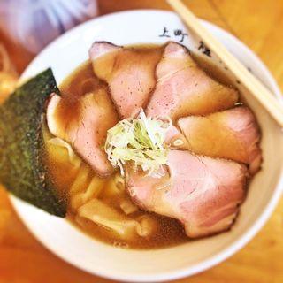 叉焼ワンタン麺(支那そば 燈灯亭)