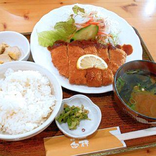 トンカツ定食(シラカバ )