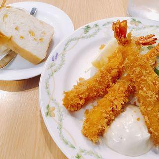 海老フライ タルタルソース添え(ムーセイオン )