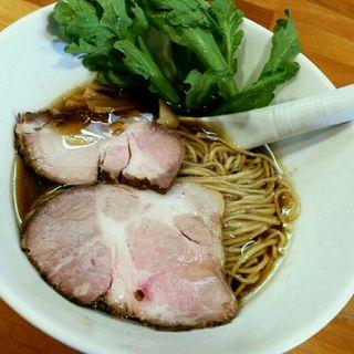 濃厚鶏だし清湯 醤油ら〜めん(極汁美麺 umami)