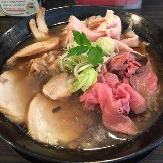 肉そば和風醤油(肉麺 ひだまり庵)