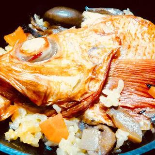 きんきの炊き込みご飯(塩別つるつる温泉 )