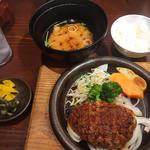 ポン酢おろしハンバーグ定食(はんばあぐ處 ぎんごんちゃん。 岡崎店 )