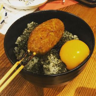 焼き鳥丼(飛菜鶏 (ヒナドリ))
