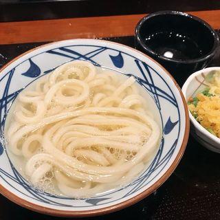 釜揚げうどん(並)(丸亀製麺 大阪駅前第4ビル店)