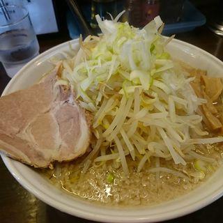 らーめん( 細麺 )+もやし(らーめん むげん )