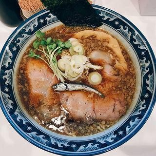 煮干し黒醤油そば(IKR51)