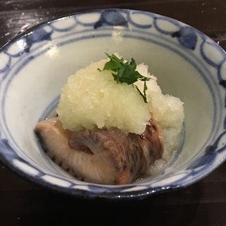 海鼠(ナマコ)おろし(食堂 おがわ )