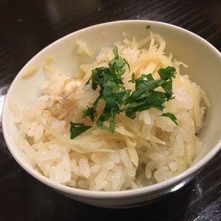 筍ご飯(食堂 おがわ )